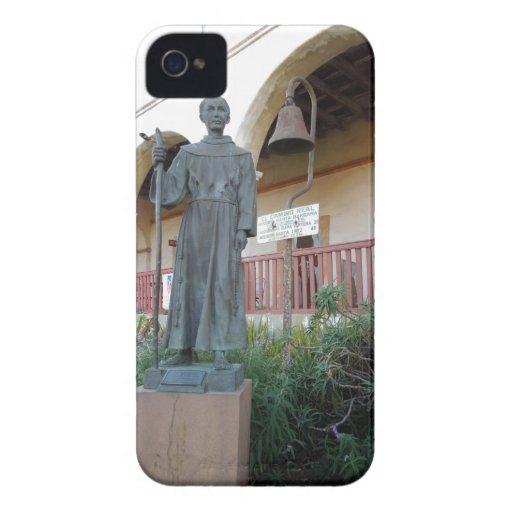 Statue of father serra at santa barbara mission case mate for Case in stile missione santa barbara