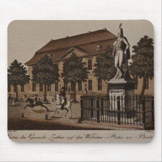 Statue of General von Ziethen in Wilhelm Platz Mouse Pad