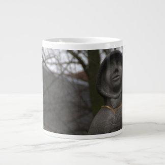 Statue of Gertrude van Oosten, Delft Extra Large Mugs