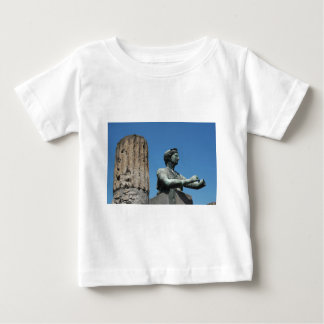 Statue of goddess Diana in Pompeii Baby T-Shirt