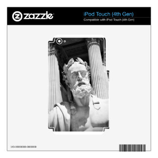 Statue of Greek philosopher iPod Touch 4G Decal