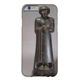 Statue of Gudea, Prince of Lagash, Neo-Sumerian, f Barely There iPhone 6 Case