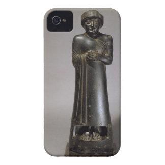 Statue of Gudea, Prince of Lagash, Neo-Sumerian, f Case-Mate iPhone 4 Case
