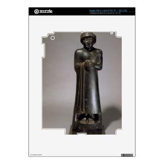 Statue of Gudea, Prince of Lagash, Neo-Sumerian, f iPad 3 Skin