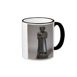Statue of Gudea, Prince of Lagash, Neo-Sumerian, f Mugs