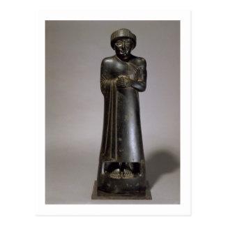 Statue of Gudea, Prince of Lagash, Neo-Sumerian, f Post Card