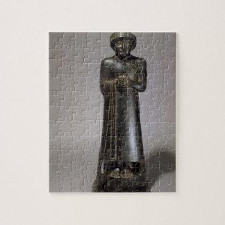 Statue of Gudea, Prince of Lagash, Neo-Sumerian, f Puzzles