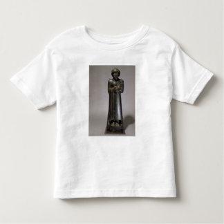 Statue of Gudea, Prince of Lagash, Neo-Sumerian, f Toddler T-shirt