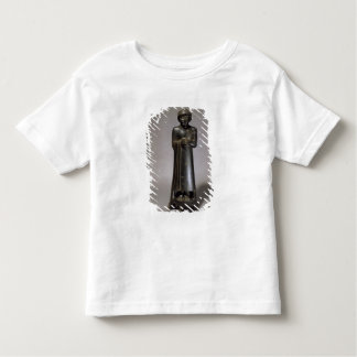 Statue of Gudea, Prince of Lagash, Neo-Sumerian, f Toddler T-shirt