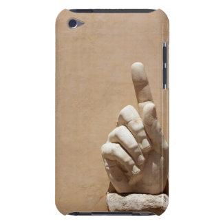 Statue of hand in Palazzo dei Conservatori Case-Mate iPod Touch Case