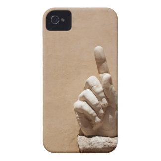 Statue of hand in Palazzo dei Conservatori iPhone 4 Case-Mate Case