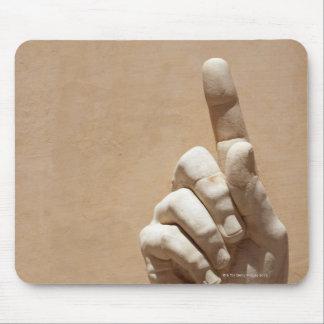 Statue of hand in Palazzo dei Conservatori Mouse Pad
