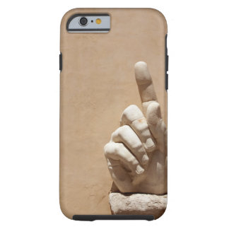 Statue of hand in Palazzo dei Conservatori Tough iPhone 6 Case