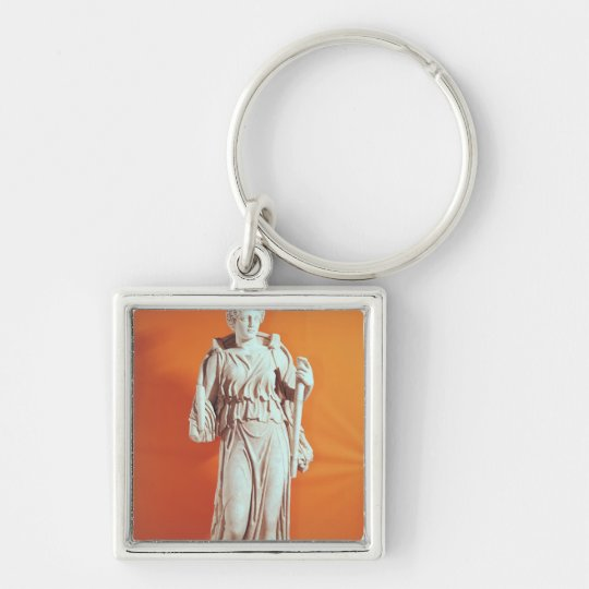 Statue of Hecate Keychain