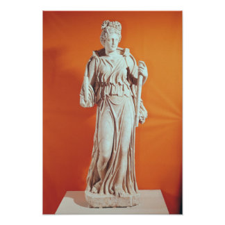 Statue of Hecate Poster