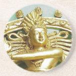 Statue of Hindu god Shiva Coaster