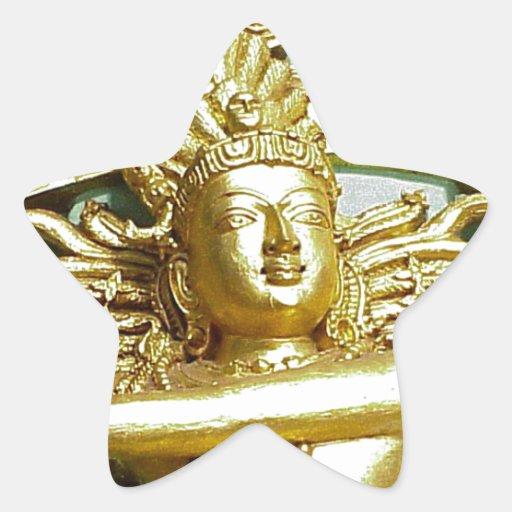 Statue of Hindu god Shiva Sticker