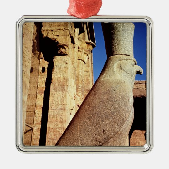 Statue of Horus Metal Ornament