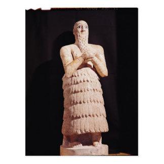 Statue of Itur-Shamagen, King of Mar Postcard