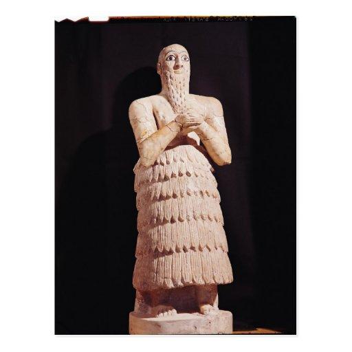 Statue of Itur-Shamagen, King of Mar Postcards