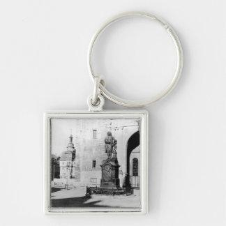 Statue of Johann Sebastian Bach Key Chains