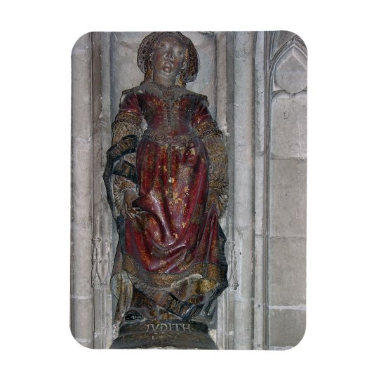 Statue of Judith (polychrome stone) Magnet