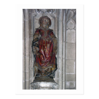 Statue of Judith (polychrome stone) Postcard