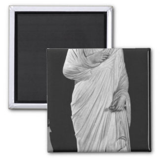 Statue of Julian the Apostate 2 Inch Square Magnet