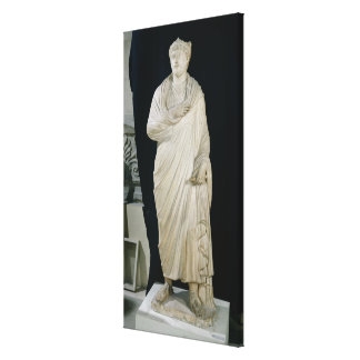 Statue of Julian the Apostate Canvas Print