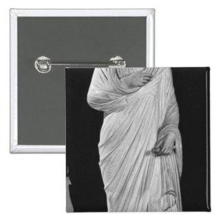 Statue of Julian the Apostate Pinback Button