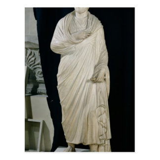 Statue of Julian the Apostate Postcard