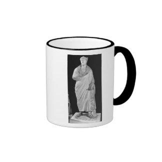 Statue of Julian the Apostate Ringer Mug