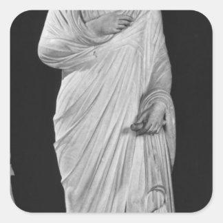 Statue of Julian the Apostate Square Sticker