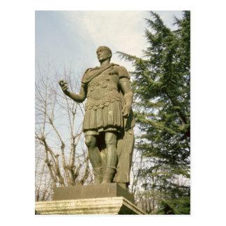 Statue of Julius Caesar Postcard