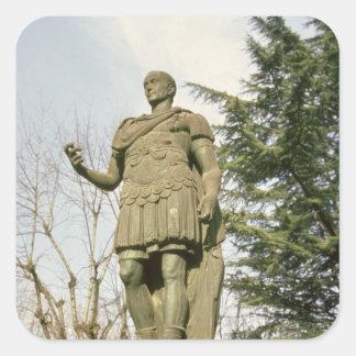 Statue of Julius Caesar Square Sticker