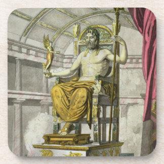 Statue of Jupiter in a Temple, from 'Costumi dei R Coaster