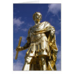Statue of King Charles II Greeting Cards
