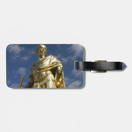 Statue of King Charles II Luggage Tags