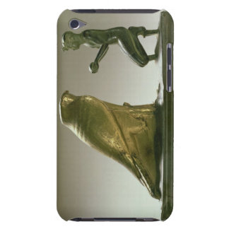 Statue of King Taharqa worshipping the falcon-god Barely There iPod Case