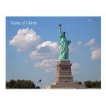 Statue of Liberty 002 Postcard