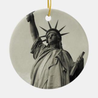 Statue of Liberty 10 Ceramic Ornament