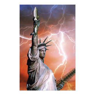 Statue of Liberty 12 Stationery