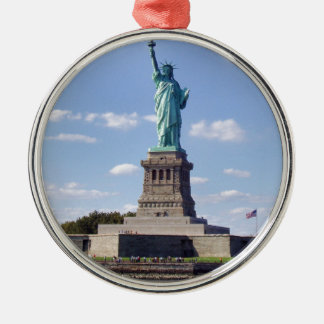 Statue of Liberty 13 Metal Ornament