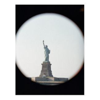 Statue of Liberty, 1886 Postcard