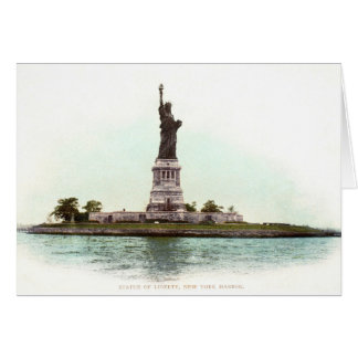 Statue Of Liberty, 1900 Card