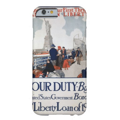 Statue_of_Liberty_1917_Propaganda Poster Barely There iPhone 6 Case