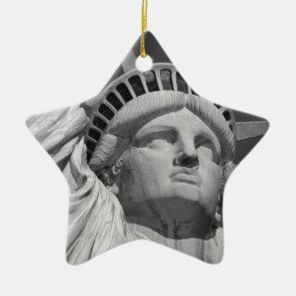 Statue of Liberty 2 Ceramic Ornament