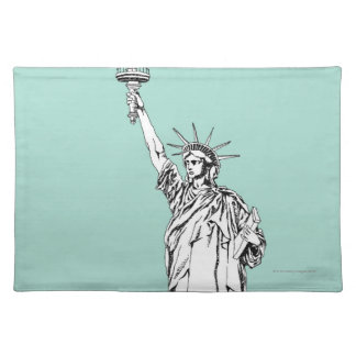 Statue of Liberty 2 Cloth Placemat