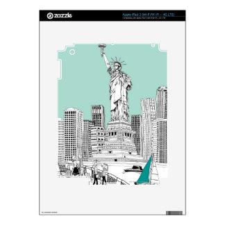 Statue of Liberty 2 iPad 3 Skin