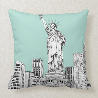 Statue of Liberty 2 Throw Pillow